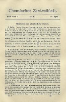 Chemisches Zentralblatt : vollständiges Repertorium für alle Zweige der reinen und angewandten Chemie, Jg. 79, Bd. 1, Nr. 17