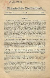 Chemisches Zentralblatt : vollständiges Repertorium für alle Zweige der reinen und angewandten Chemie, Jg. 79, Bd. 1, Nr. 13