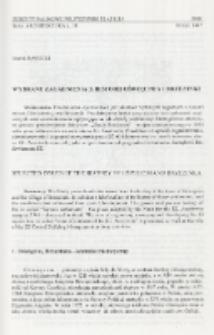 Wybrane zagadnienia z historii Oświęcimia i Brzezinki