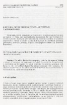 Kryteria oceny oddziaływania autostrad na środowisko