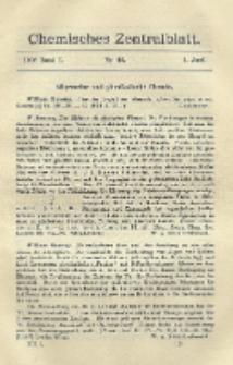 Chemisches Zentralblatt : vollständiges Repertorium für alle Zweige der reinen und angewandten Chemie, Jg. 79, Bd. 1, Nr. 22