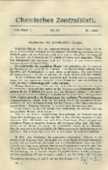 Chemisches Zentralblatt : vollständiges Repertorium für alle Zweige der reinen und angewandten Chemie, Jg. 79, Bd. 1, Nr. 23