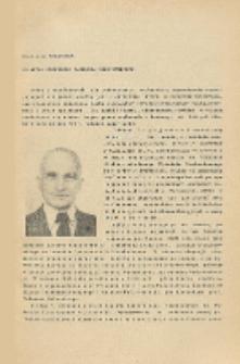 Sylwetka Profesora Tadeusza Zagajewskiego