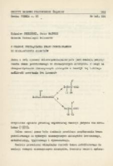 O reakcji przyłączania kwasu podchlorawego do nienasyconych aldehydów