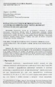 Kształtowanie funkcji metropolitalnych aglomeracji górnośląskiej. Przykład budowy nowego Muzeum Śląskiego