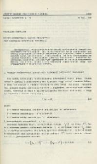 Metody wyrównania danych pomiarowych przy niepełnej informacji pomiarowej