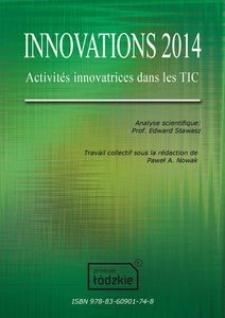 Innovations 2014 : Activités innovatrices dans les TIC