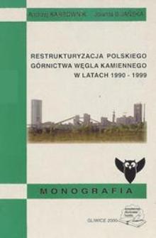 Restrukturyzacja polskiego górnictwa węgla kamiennego w latach 1990-1999