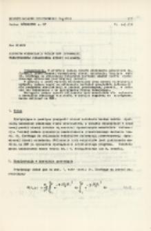 Algorytm wyznaczania wskaźników deformacji przestrzennej dynamicznej niecki osiadania