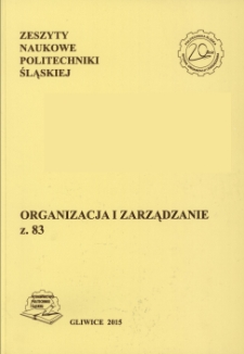 Kluczowe czynniki sukcesu zarządzania projektami na podstawie badań wybranych firm województwa śląskiego