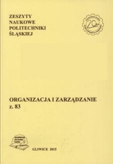 Zarządzanie procesowe w polskich przedsiębiorstwach przemysłowych z branży chemicznej