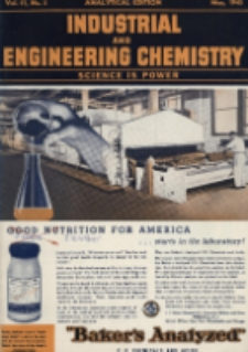 Industrial and Engineering Chemistry : analytical edition, Vol. 17, No. 5