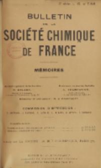 Bulletin de la Société Chimique de France. Mémoires, 5 série, T. 12, n. 7-8-9