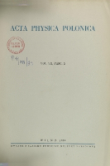 Acta Physica Polonica, Vol. 7, Z. 2