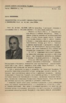 Charakterystyka działalności naukowo-dydaktycznej i przemysłowej Prof.zw.dr hab. Jana Kuhla