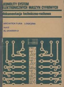 Jednolity system elektronicznych maszyn cyfrowych : dokumentacja techniczno-ruchowa