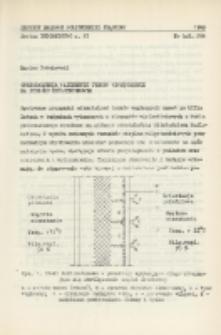 Odkształcenia wapiennych tynków wewnętrznych na podłożu żużlobetonowym