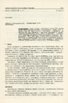 Równania lepkosprężystej, ortotropowej płyty użebrowanej