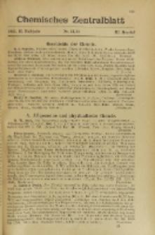 Chemisches Zentralblatt : vollständiges Repertorium für alle Zweige der reinen und angewandten Chemie, Jg. 116, Hb. 2, Namenregister 1-14