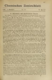 Chemisches Zentralblatt : vollständiges Repertorium für alle Zweige der reinen und angewandten Chemie, Jg. 116, Hb. 2, Nr. 7/8