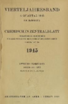 Chemisches Zentralblatt : vollständiges Repertorium für alle Zweige der reinen und angewandten Chemie, Jg. 116, Hb. 2, Nr. 15/16
