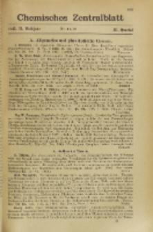 Chemisches Zentralblatt : vollständiges Repertorium für alle Zweige der reinen und angewandten Chemie, Jg. 116, Hb. 2, Nr. 11/12