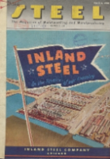 Steel : production, processing, distribution, use, Vol. 116, No. 14