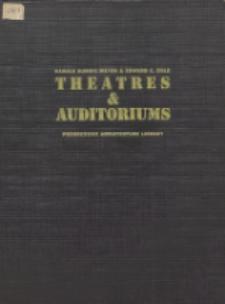 Theatres & auditoriums : progressive architecture library