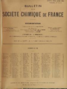 Bulletin de la Société Chimique de France. Documentation, Fascicules n. 4-6