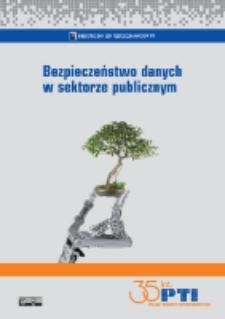 Bezpieczeństwo danych w sektorze publicznym