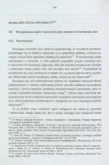 Reorganizacja sądów rejonowych jako element równoważenia sieci