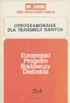 Oprogramowanie do transmisji danych