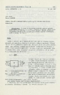 Synteza układów elektronicznych zawierających idealne wzmacniacze