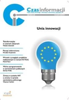 Unia innowacji, Nr 4