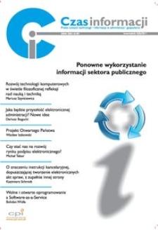 Ponowne wykorzystanie informacji sektora publicznego, Nr 3