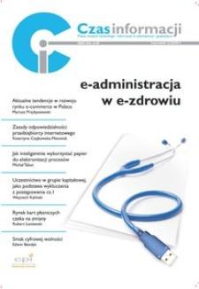 E-administracja w e-zdrowiu, Nr 1