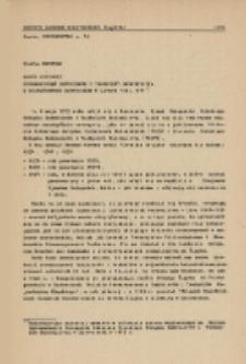 Zarys historii Stowarzyszeń Inżynierów i Techników Budownictwa w województwie katowickim w latach 1922-1977