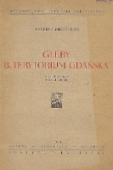 Gleby b. terytorium Gdańska : z barwną mapą w skali 1:250 000