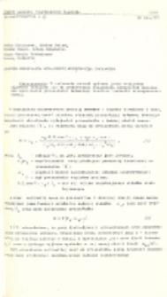 Algorytm określania wydajności przenośnika taśmowego
