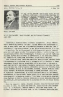 """20 lat specjalności """"drogi żelazne"""" na Politechnice Śląskiej 1965-1985"""