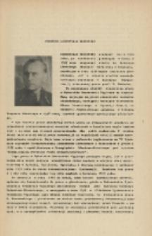 Profesor Mieczysław Mrozowski