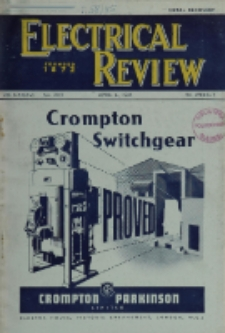 Electrical Review, Vol. 136, No. 3515