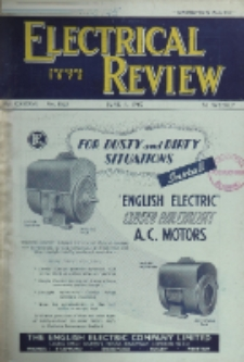 Electrical Review, Vol. 136, No. 3526