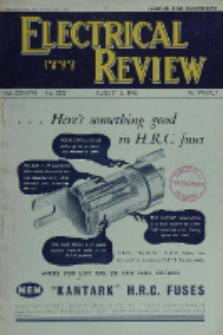 Electrical Review, Vol. 137, No. 3532