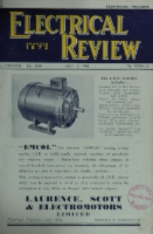 Electrical Review, Vol. 137, No. 3529