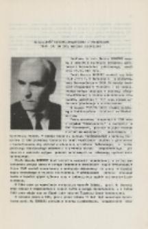 Działalność naukowo-dydaktyczna i przemysłowa Prof. zw. dr inż. Marcina Boreckiego