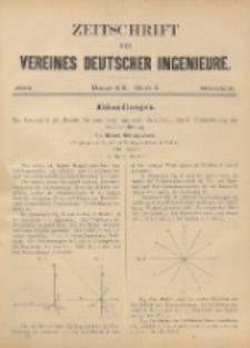 Zeitschrift des Vereines Deutscher Ingenieure ; Bd. 20 ; H. 3