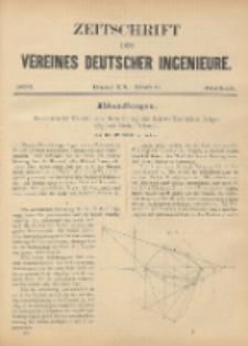 Zeitschrift des Vereines Deutscher Ingenieure ; Bd. 20 ; H. 6