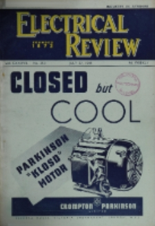 Electrical Review, Vol. 137, No. 3531