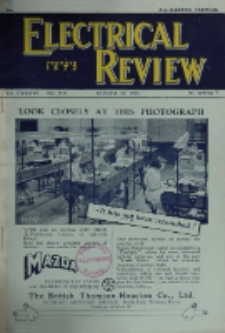 Electrical Review, Vol. 137, No. 3533